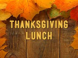 Thanksgiving Lunch Tickets Onsale