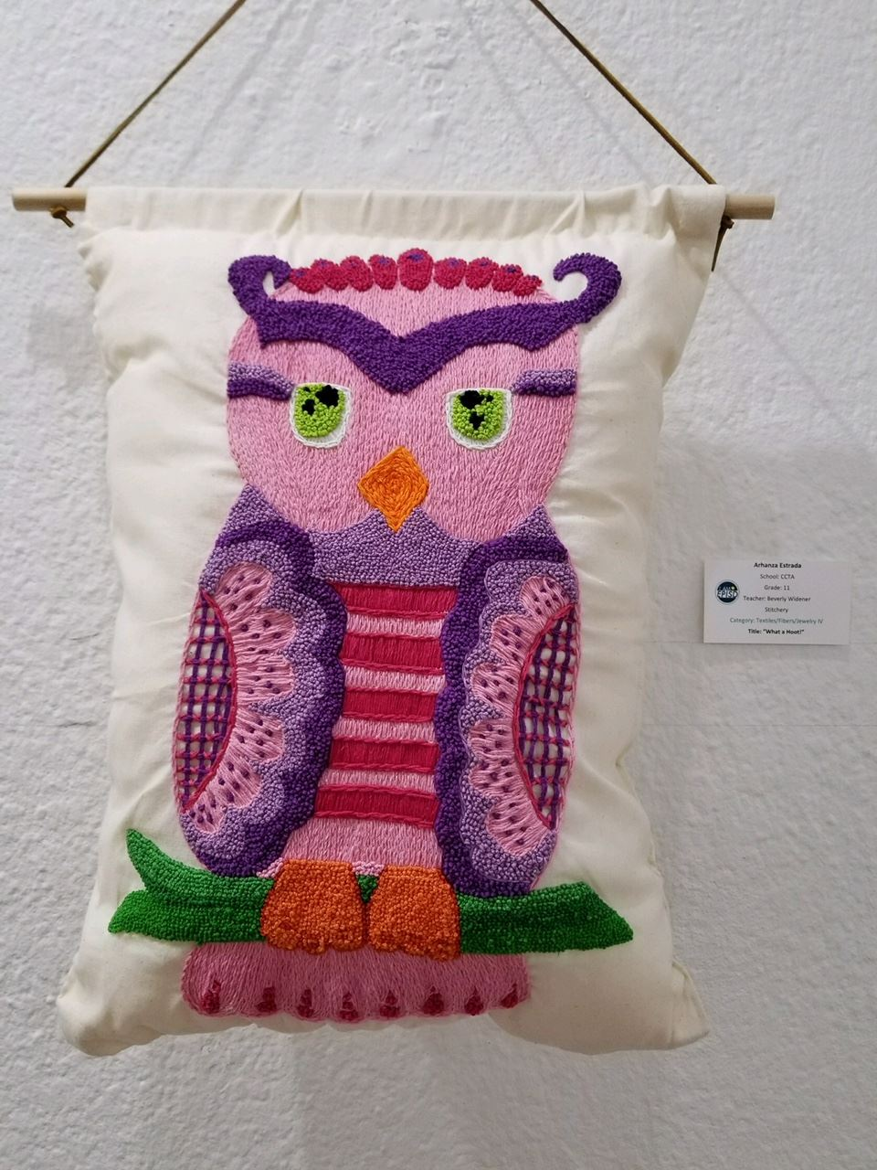 Stitchery by Arhanza Estrada - First Place