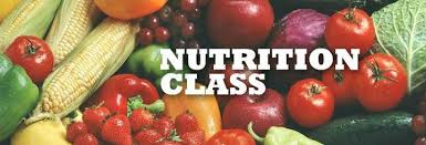 FREE Weekly Nutrition Classes