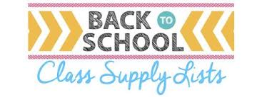 2019-2020 K-5th Supply Lists are located under the Registration Tab