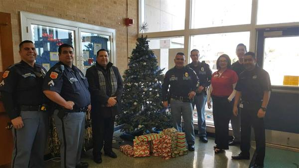 El Paso Police Department Spirit of Christmas Project