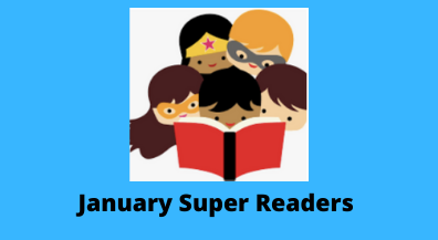 January Super Readers