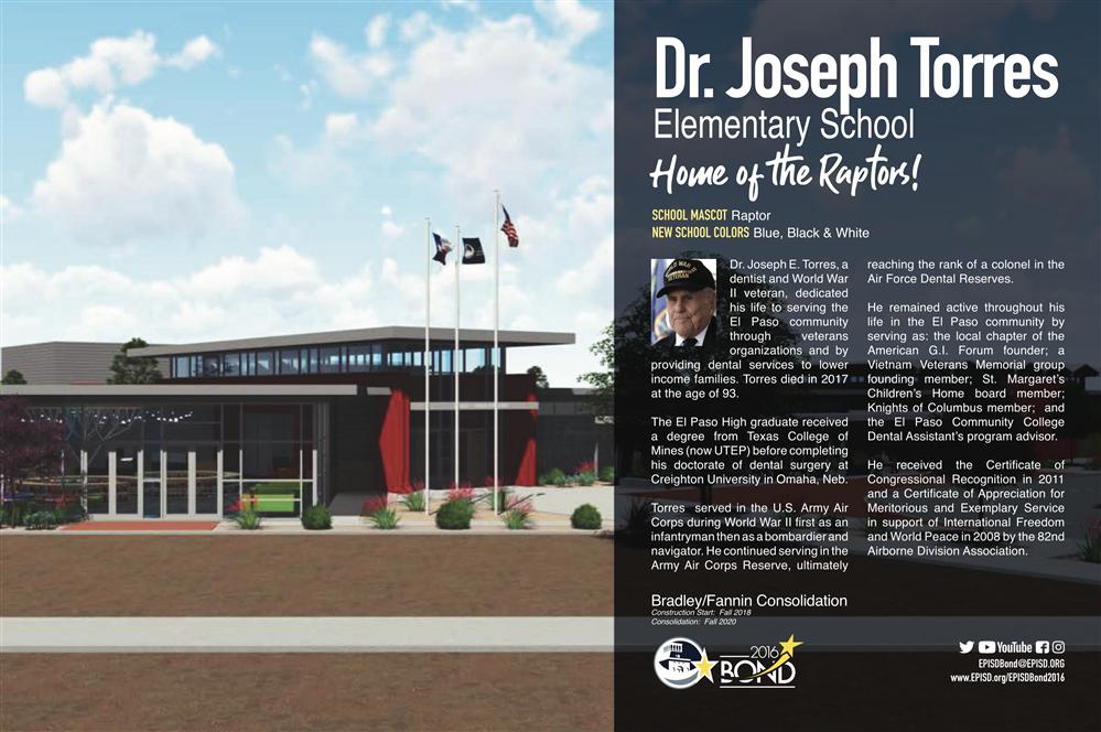 Construction Projects / Dr  Joseph E  Torres ES