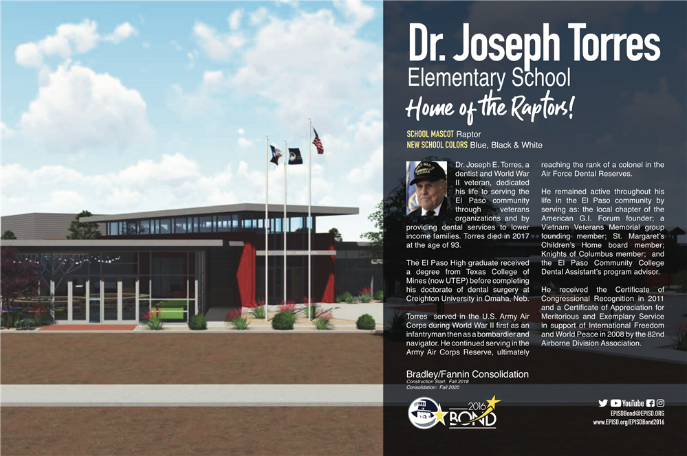 Utep Academic Calendar 2020-2021 Construction Projects / Dr. Joseph E. Torres ES