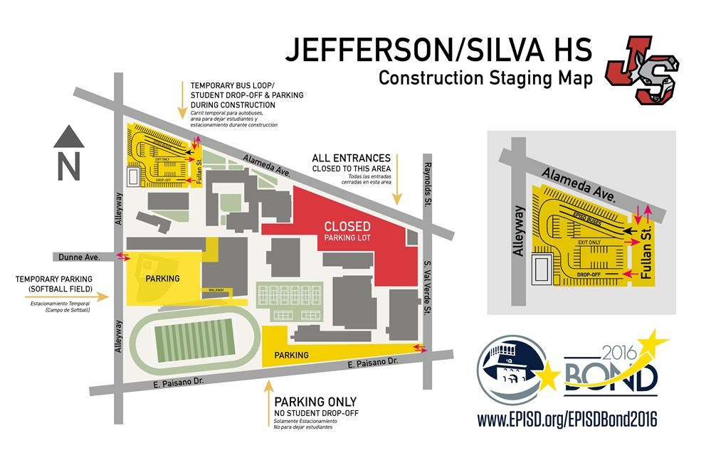 Construction Staging Map