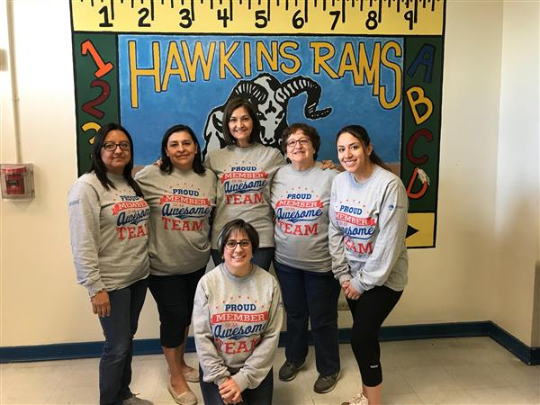 Teachers and Staff Join Walking Challenge