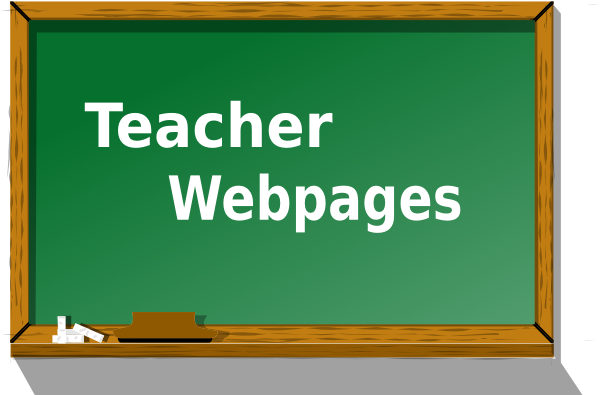 Teacher Webpages