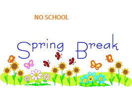 "Spring Break will take place March 18-22 as per the ""new"" District calendar."
