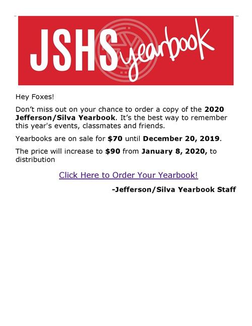 Click Here to Order Your Yearbook