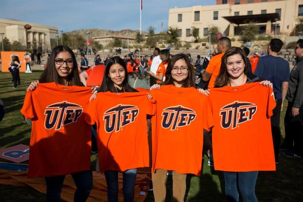 Orange and Blue Week (Seniors UTEP Event)