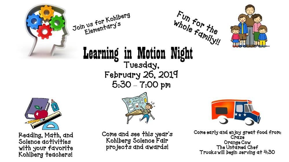Learning In Motion Night