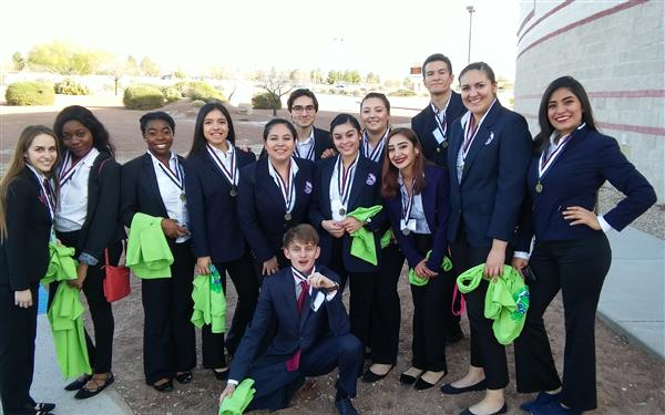 CCTE students place at HOSA regional competition