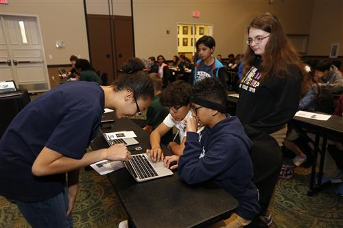 Youth Spark STEAM at Fort Bliss