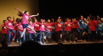 EPISD schools perform with Kids Excel at Plaza Theater