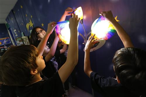 Summer Camp Space Exploration at Mesita