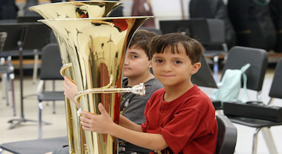 Concert will mark the end of summer band camp