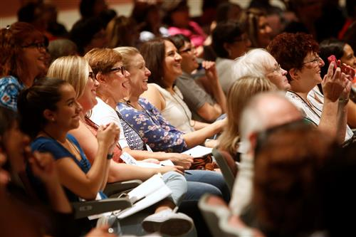 Blended Learning Conference draws hundreds of teachers