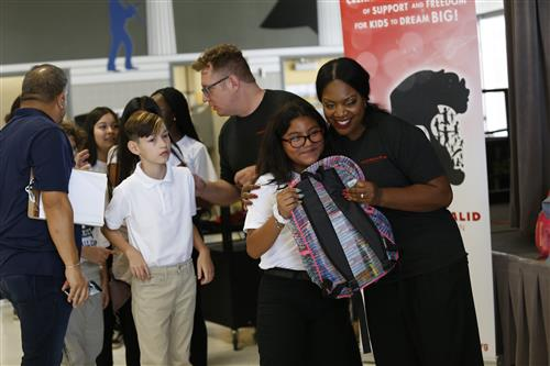 Khalid Backpack Giveaway