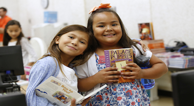 Bond students embrace reading with a new book