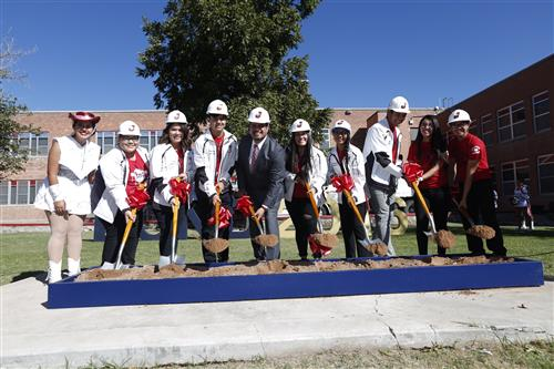 Jeff Silva groundbreaking