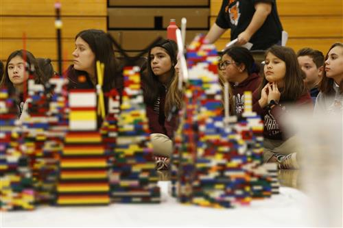 Lincoln LEGOs event