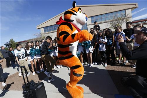 Tony the Tiger visit