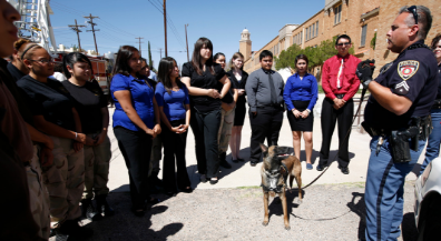 EPISD Police K9 officers place nationally