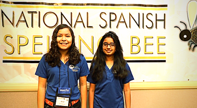 Lundy, Mesita students go far in National Spanish Spelling Bee
