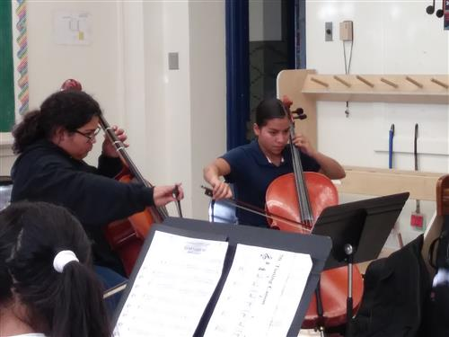 Tocando at EPISD