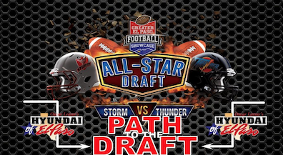 EPISD football players selected for All-Star draft
