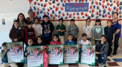 Aoy celebrates Statistics in Schools Week with Census activity