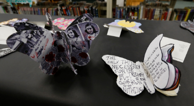 Richardson Middle students honor Holocaust victims through butterfly-shaped art