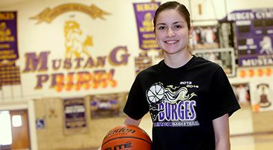 Burges point guard vying for grand prize in 3-point competition