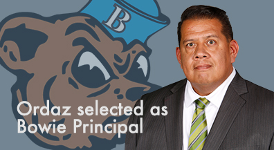 Ordaz named permanent principal at Bowie High School