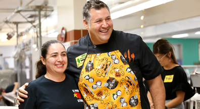 Hail to the Chef: Celebrity chef helps EPISD cafeterias craft menu for upcoming National School Lunch Week