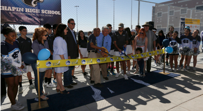 Bond 2016: Ribbon-cutting ceremony showcases new Chapin tennis courts