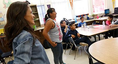 Guillen students learn about hip hop 'kultura'