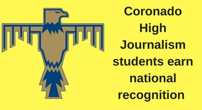 Coronado journalism students get national recognition