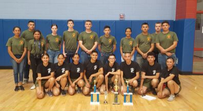 Coronado Marine JROTC wins big in Las Cruces