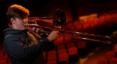 Coronado junior is top bass trombonist in Texas
