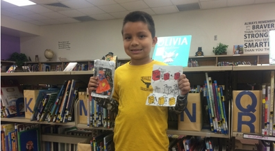 Crockett library adds book by second-grade author to collection