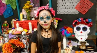 Students celebrate colorful Mexican holiday