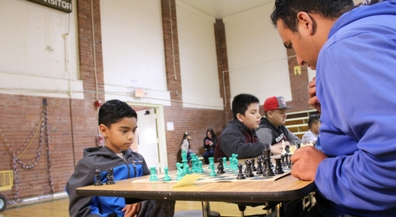 Douglass Chess Tournament helps feed the homeless