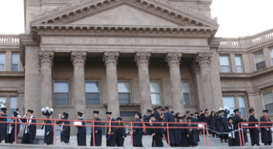El Paso High graduates celebrate commencement at the Lady on the Hill