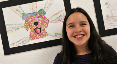 Pets in Art: Students find inspiration in animals for new exhibit