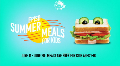 EPISD to provide free summer meals to children ages 1-18