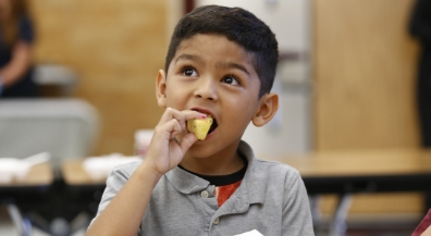 Curious Taste Buds: EPISD students try exotic fruits and veggies during Farmers Markets.