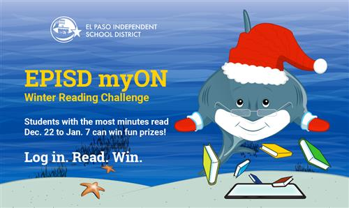 myOn Winter Reading Challenge