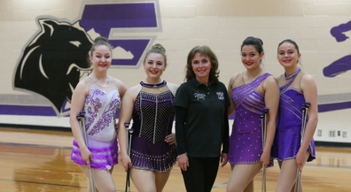 Franklin High's twirlers advance to state competition
