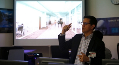 Building the future: Bond architect speaks to Franklin drafting students